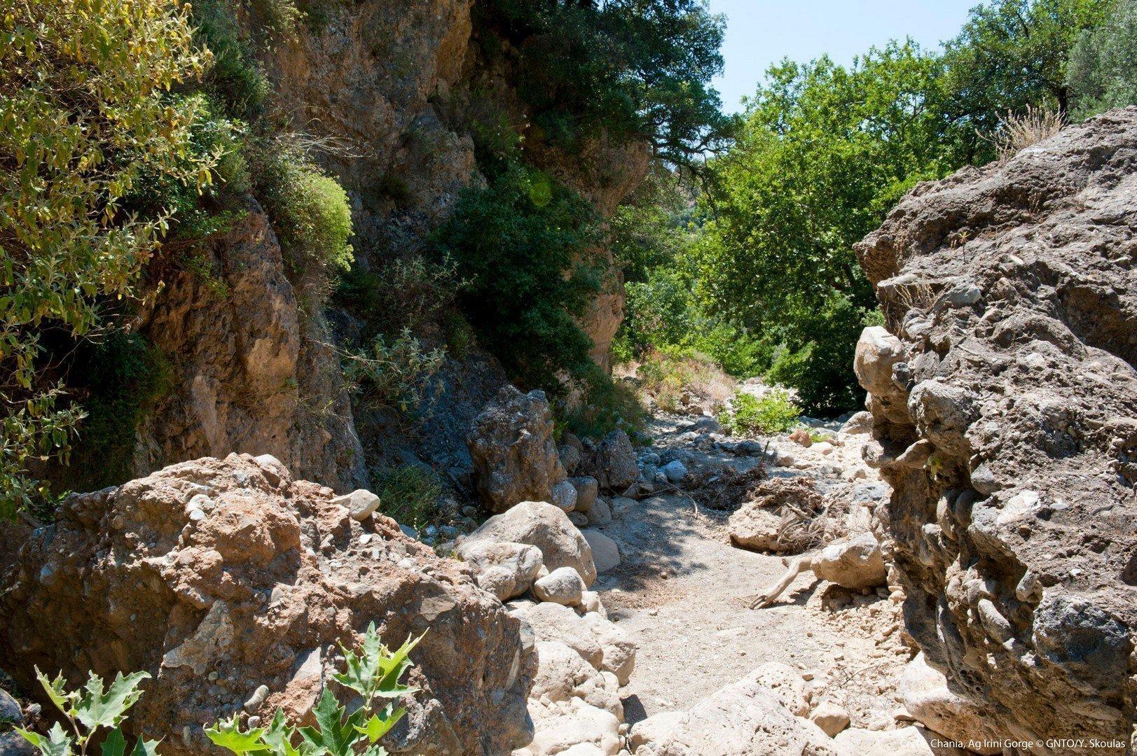 Ag. Irini Gorge, Sougia - Chania