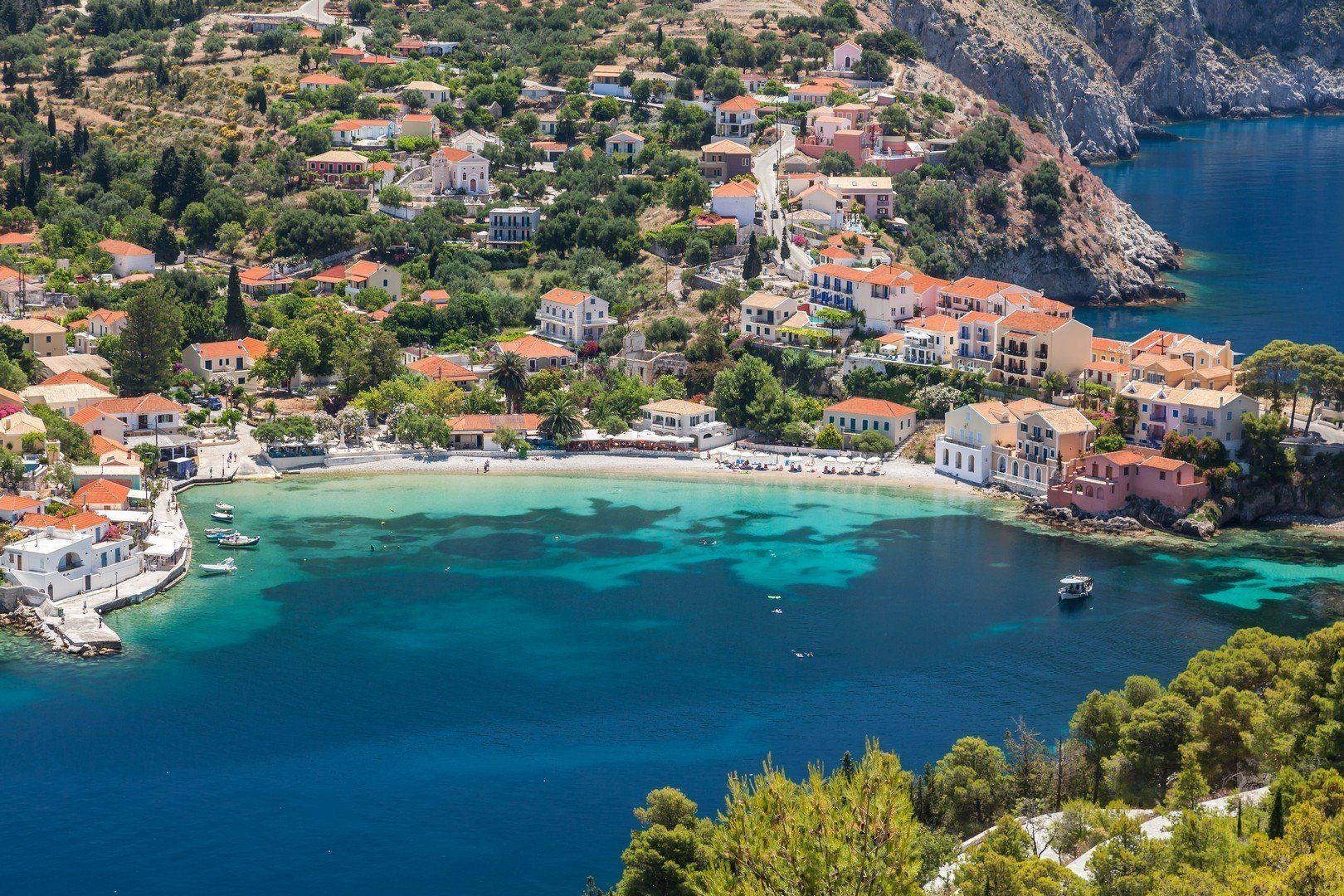 Assos on the island of Kefalonia