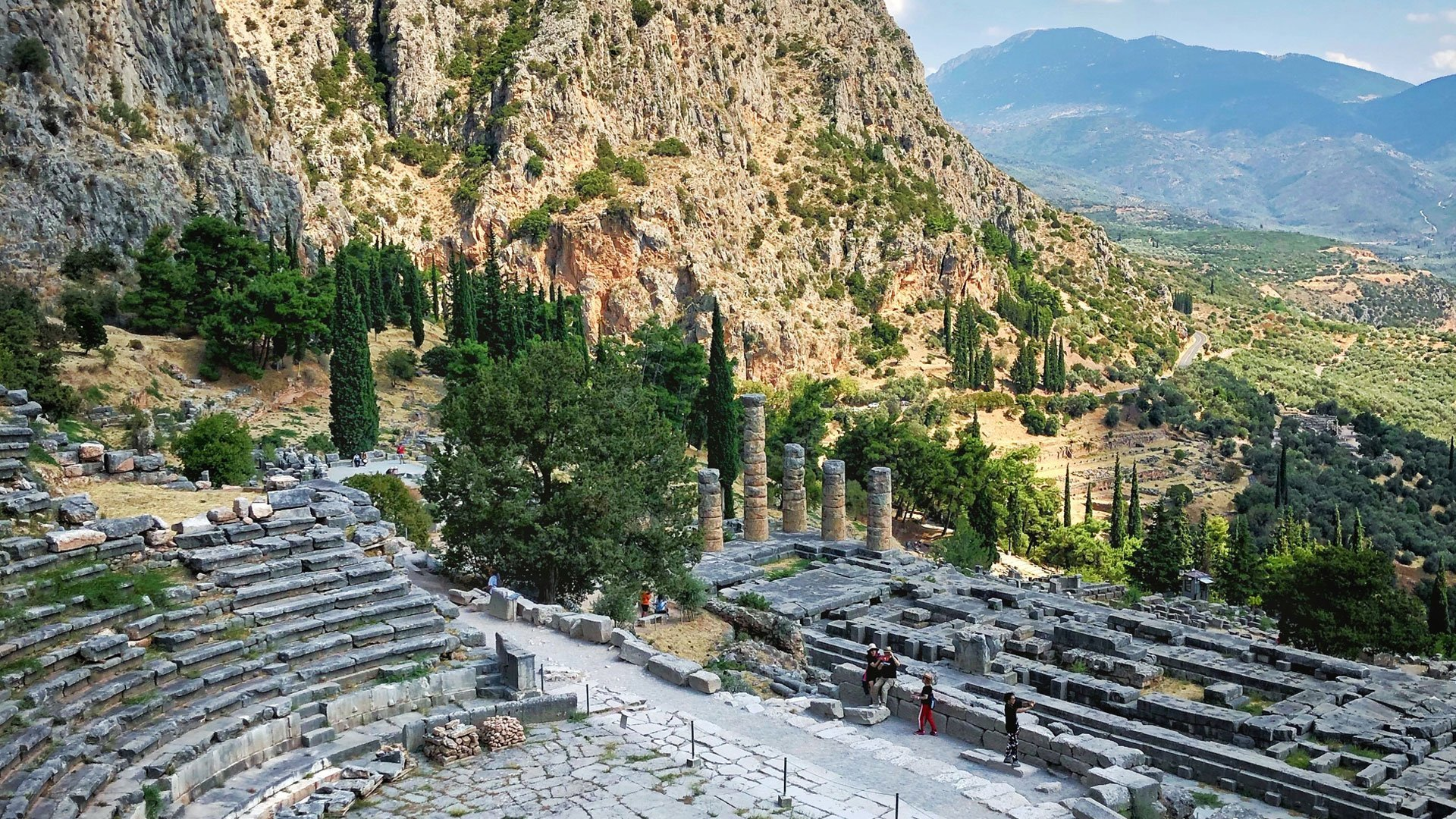 Delfos (Delphi), Greece