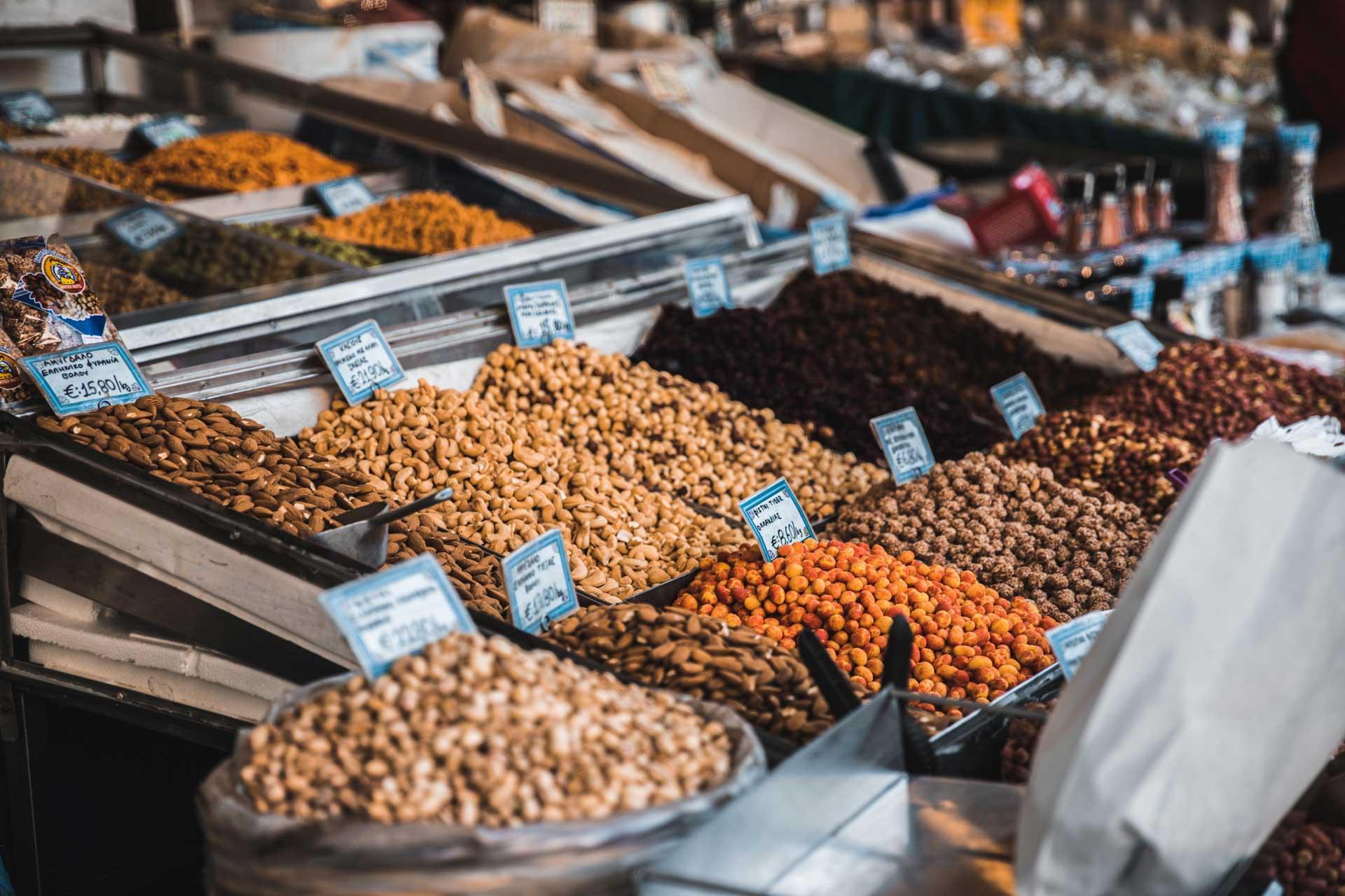 Greek-nuts-Athens-food-tour-tour-gastronomico-Atenas
