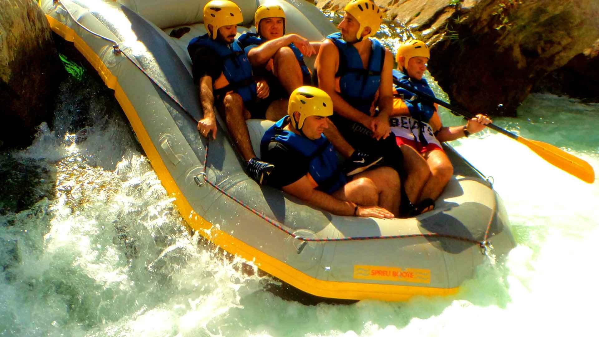 Lousios-Rafting