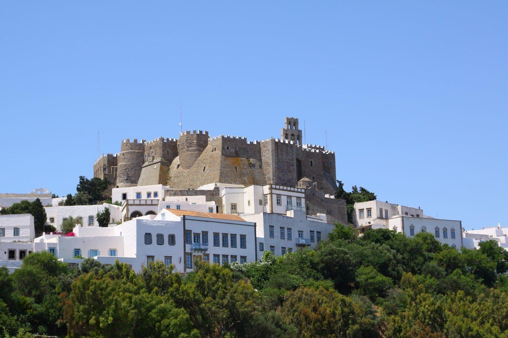Patmos dodecanese castle