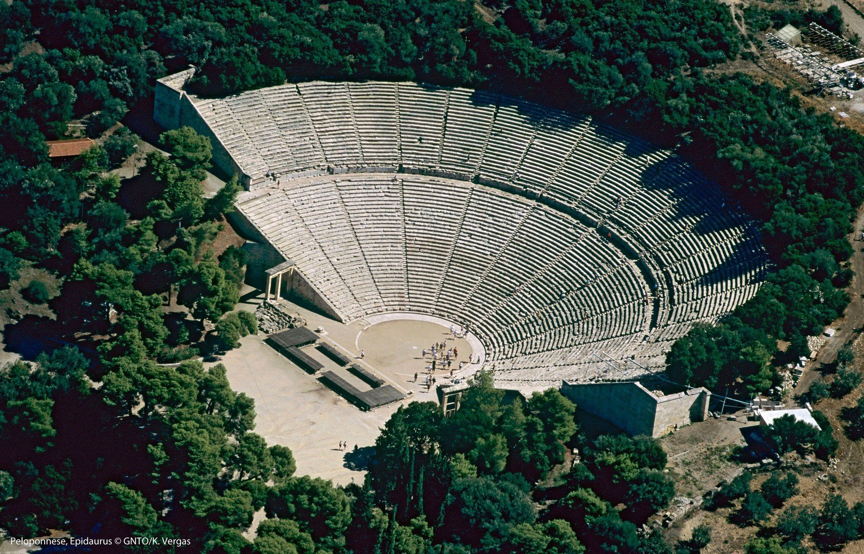 Teatro de Epidauro, Peloponeso