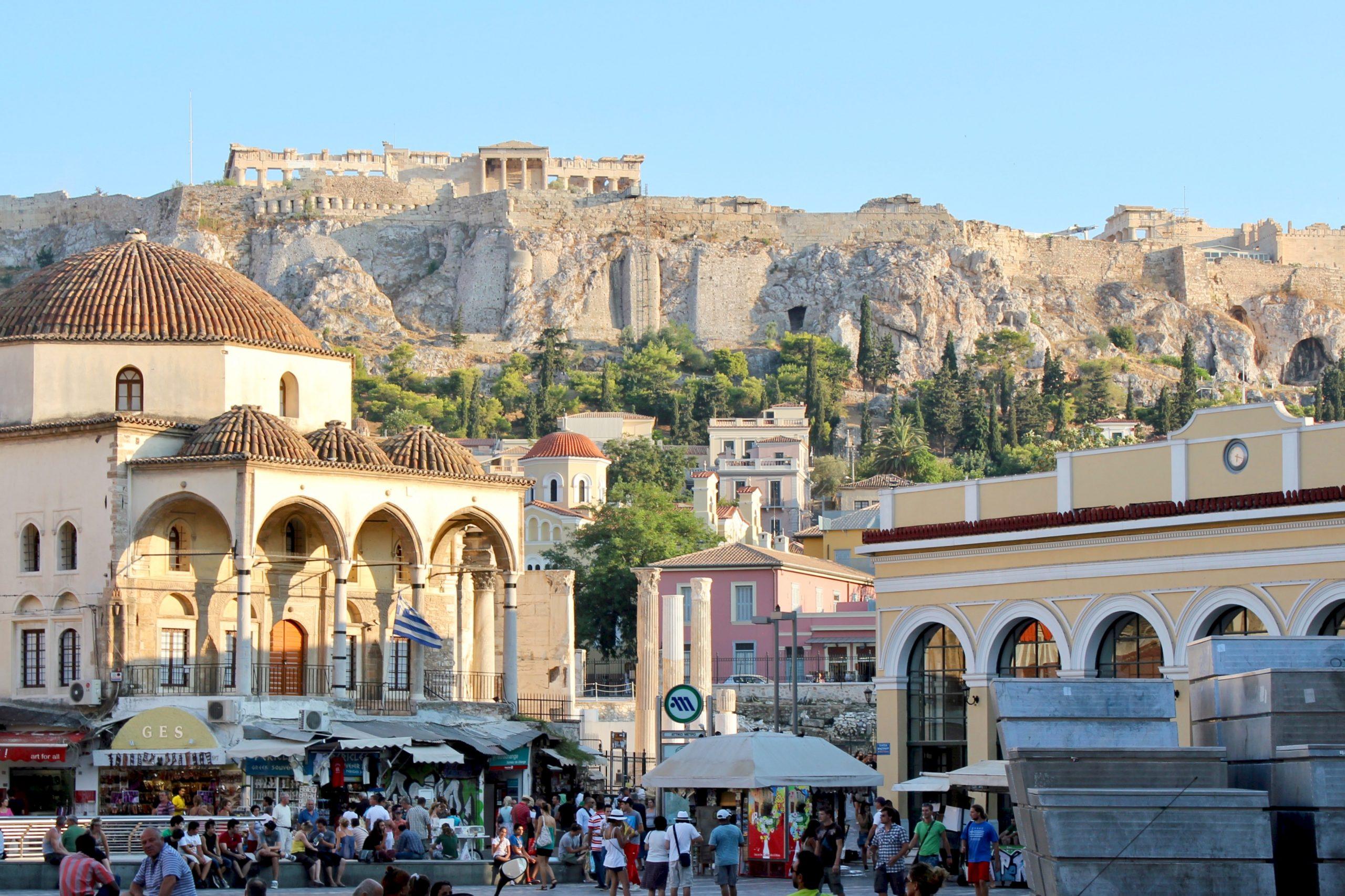 Athens Monastiraki Acropolis