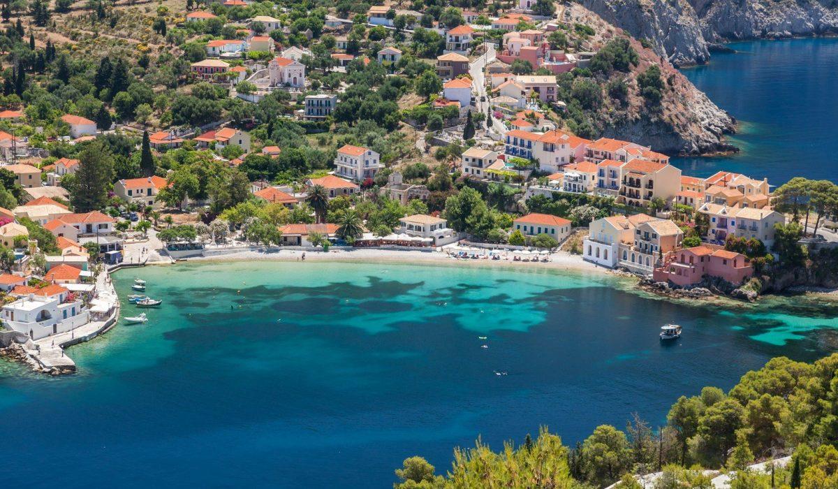 Assos on the island of Kefalonia